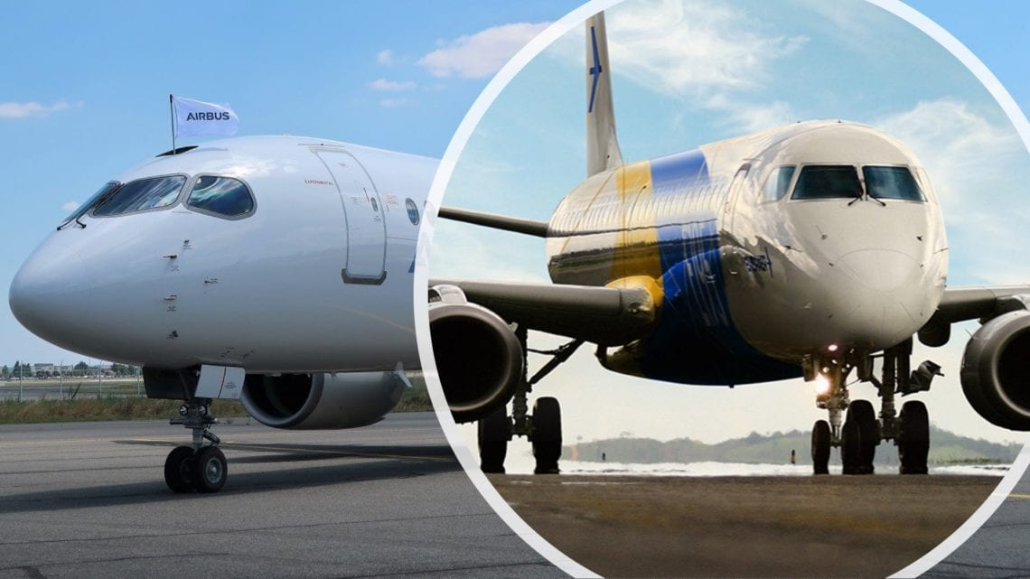 The Airbus A220-300 Vs The Embraer 195-E2 - What Plane Is