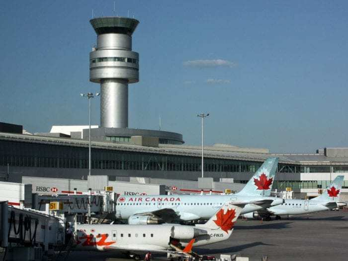 Air Canada Aircraft Collides With Fuel Truck At Toronto Pearson