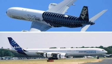 A350-1000 vs A340-600