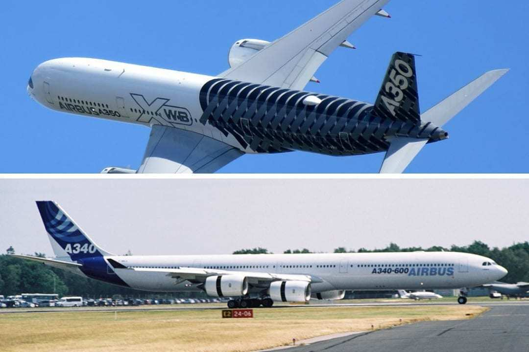 The Airbus A340-600 vs A350-1000 – What Plane Is Best?