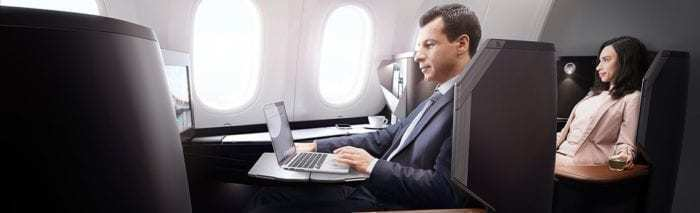 WestJet 787 Business Class
