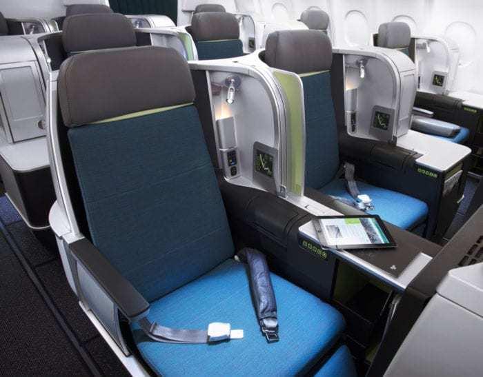 Aer Lingus business class