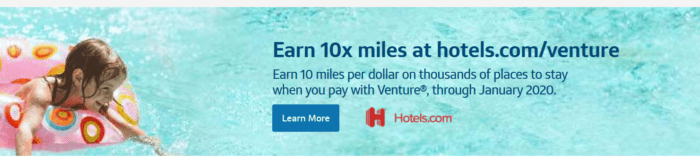 Hotels.com and Capital One Venture
