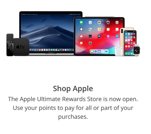 Chase redeem with Apple