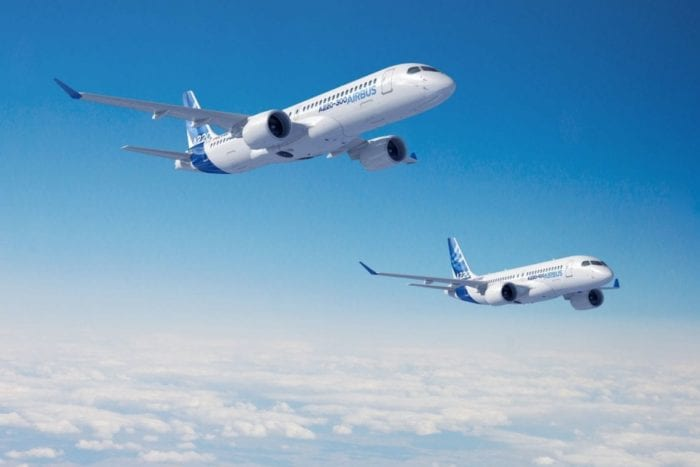 Airbus A220 Family Range Increase