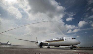 Singapore Airlines 787