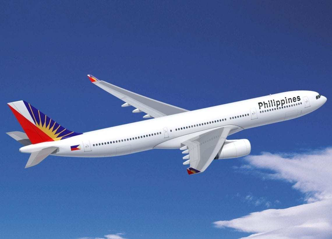 Philippine Airlines Changes Manila – Sydney To An Airbus A330