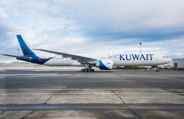 Kuwait Airways aircraft