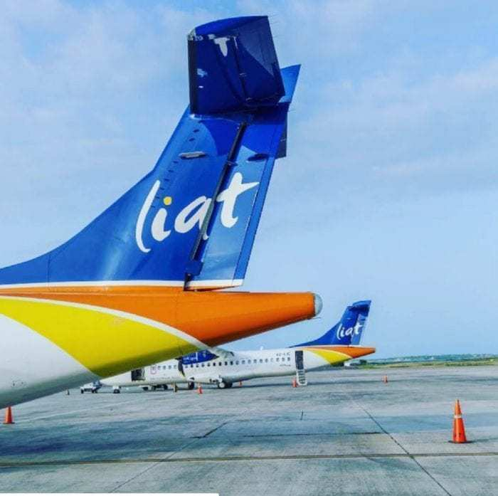 LIAT airlines tail fins