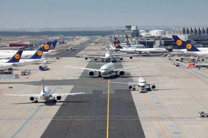 airplane congestion