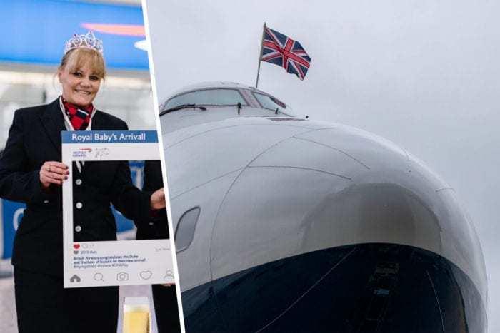 British Airways Royal Baby
