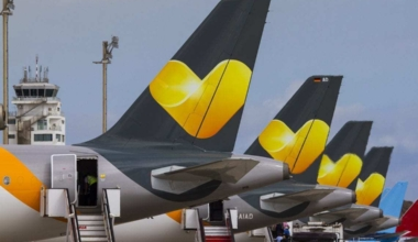 Thomas Cook Airlines aircraft tail