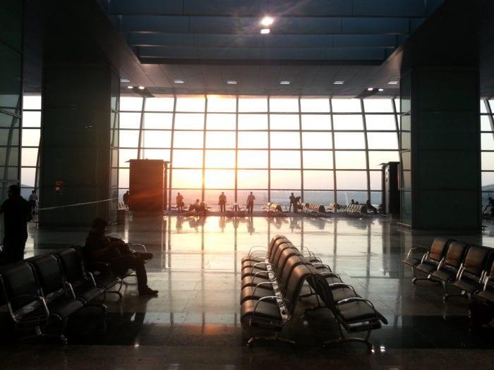 waiting airport