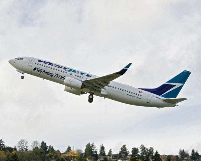 Westjet Boeing 787