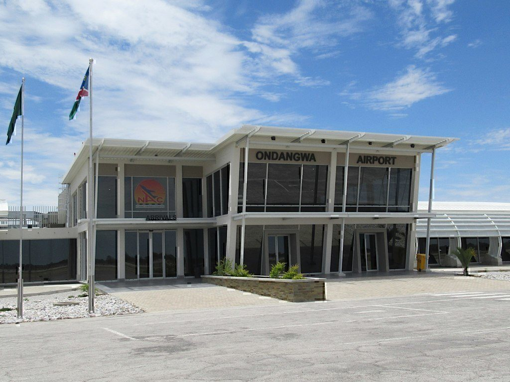 Terminal building at Ondangwa Airport, Namibia