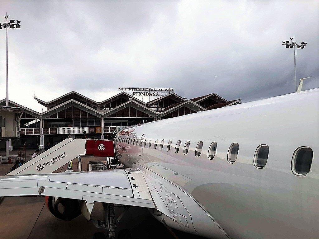 Moi Int' Airport in Mombasa,KE