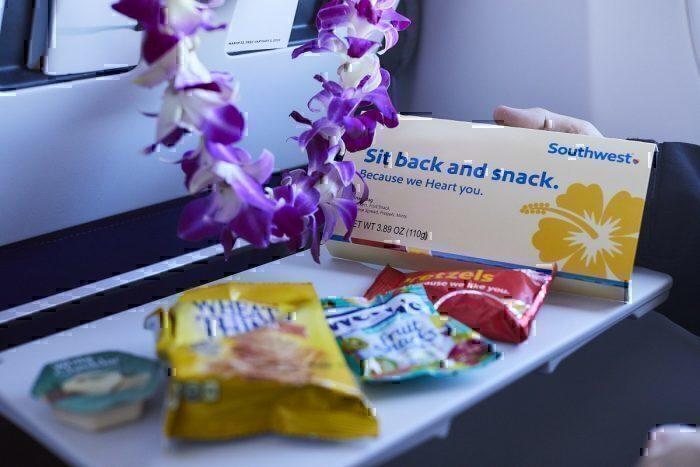 Southwest inflight snacks