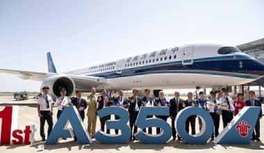 China Southern A350 delivery