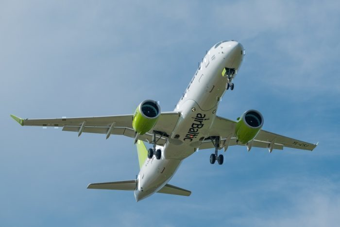 airBaltic Airbus A220 Increased Range
