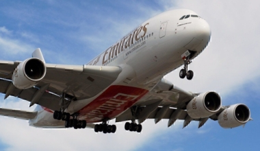 Summer peak sees Emirates Airbus A380 flying to Boston