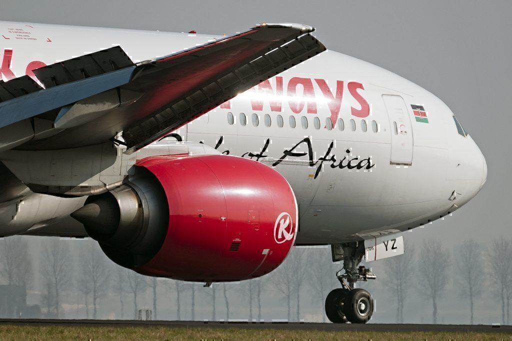 Kenya Airways 77