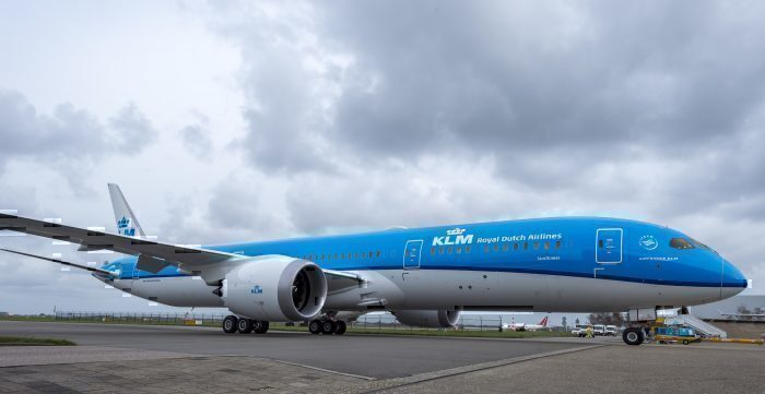KLM's First Boeing 787-10 Spotted In Charleston