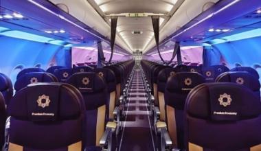 Vistara Airbus A320 Cabin