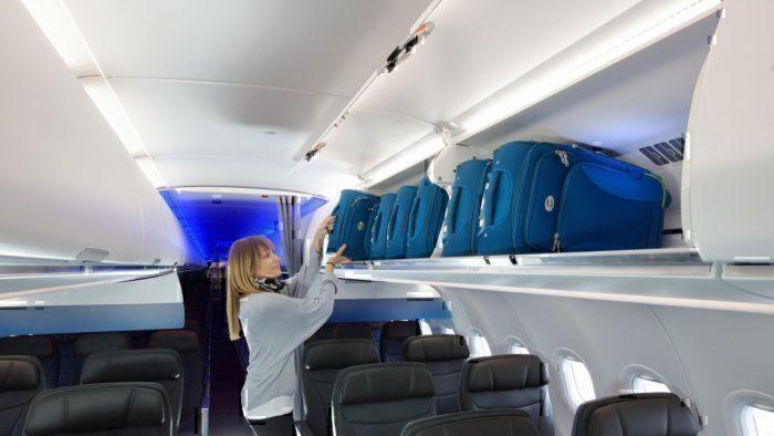 A321 cabin