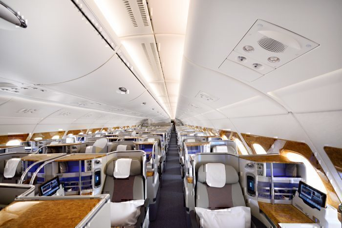 Emirates Decides To Unpackage Its Business Class Offering