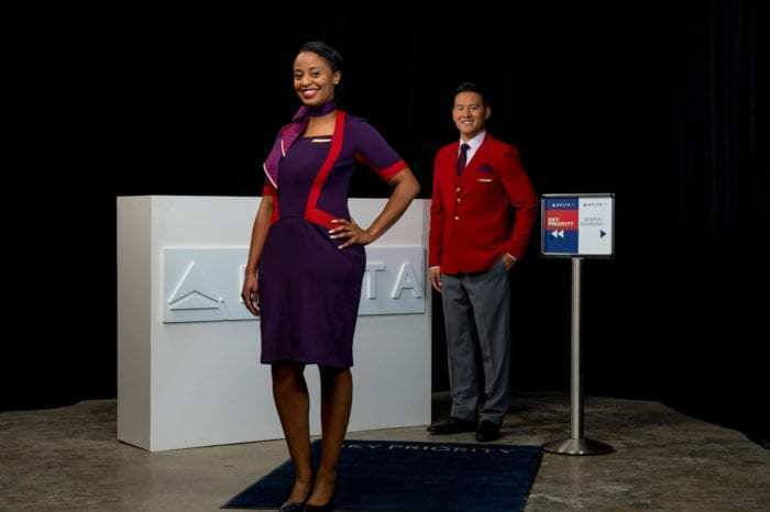 Delta new uniforms