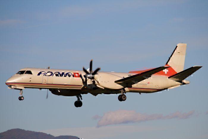 Adria Airways Saab 2000