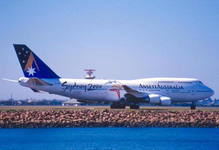 Ansett Australia 747 Sydney