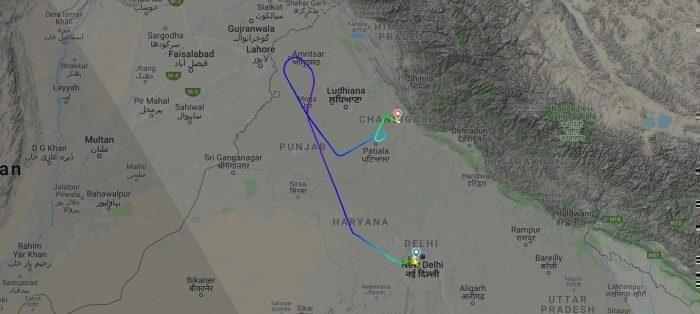 Air Asia India flight I5715
