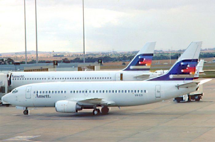 Ansett Australia 737