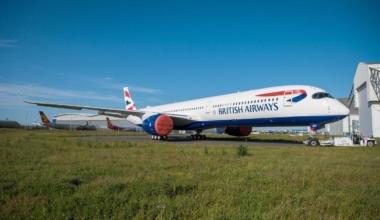 British Airways A350 London Madrid