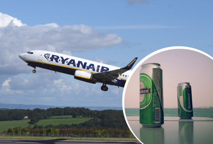 Ryanair Disruptive Passengers Alcohol Spain