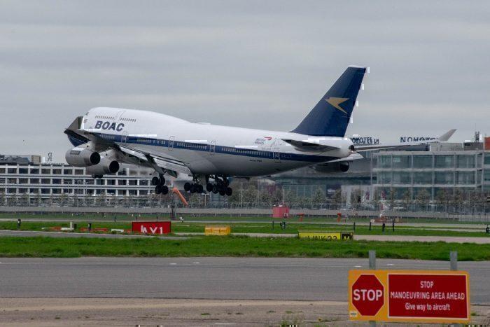 Qantas Domestic Boeing 747 Flights