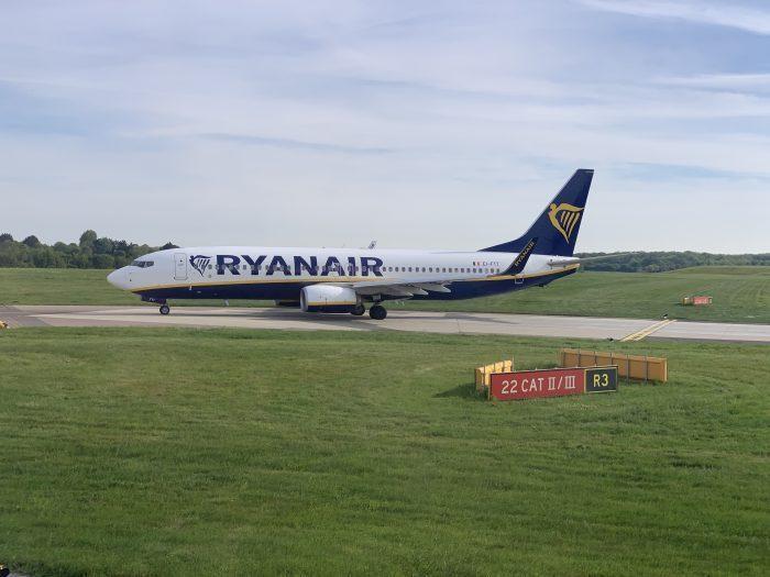 Ryanair CO2 Stats