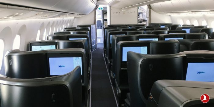 Turkish Airlines Boeing 787 Business Class