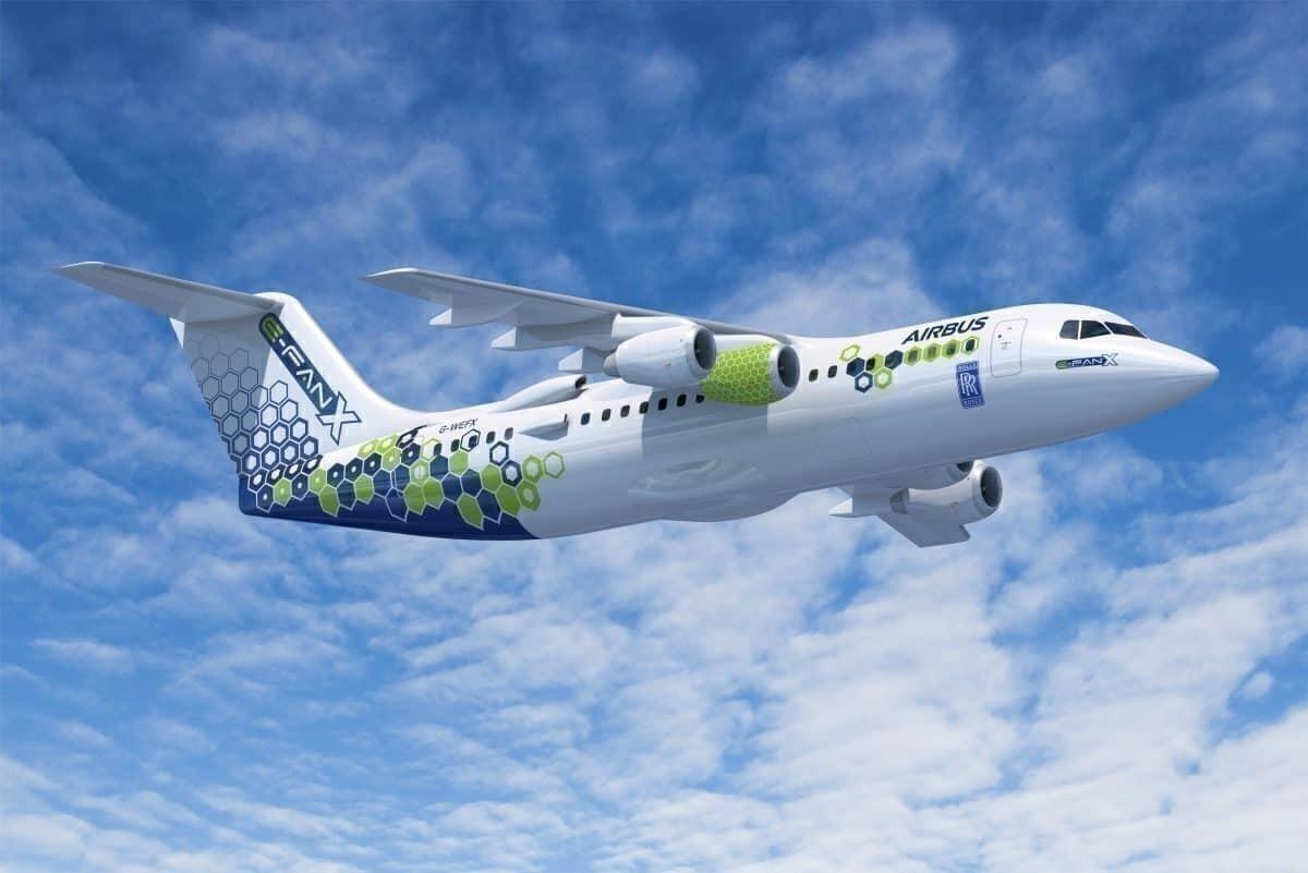 Airbus Scraps E-Fan X Electric Hybrid Jet