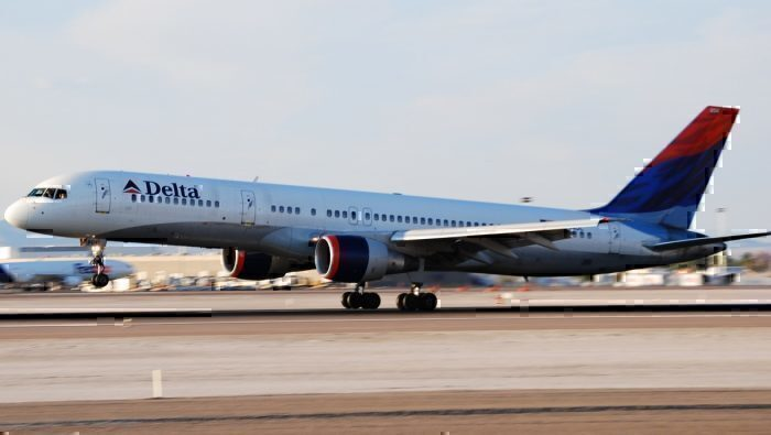 Delta Airlines Boeing 757 Catches Fire On Landing In Atlanta