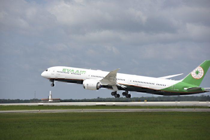EVA Air Operates Its First Boeing 787-10 Flight To Brisbane