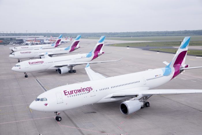 Brussels Airlines Airbus A330 Eurowings