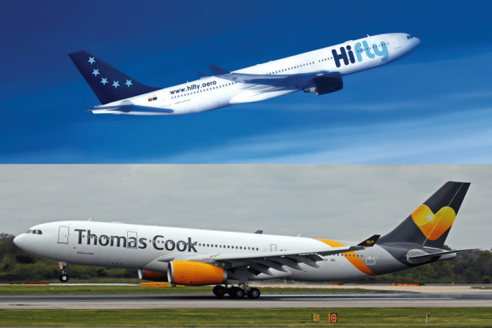 Breaking: Charter Airline Hi Fly Makes Bid To Buy Thomas Cook