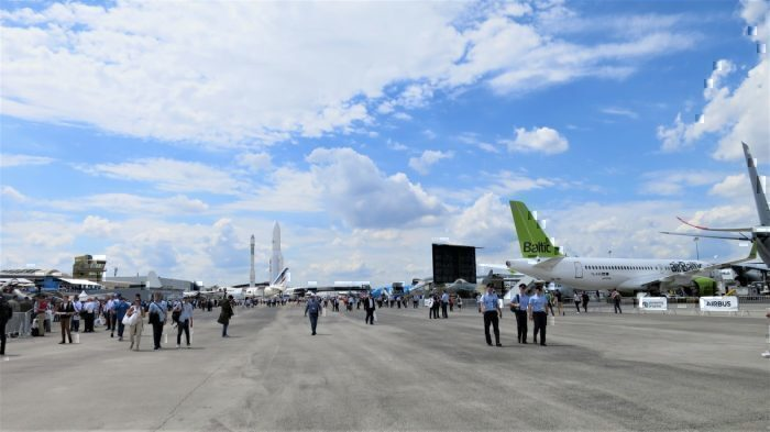 Day 3 at the Paris Air Show. Photo: Simple Flying