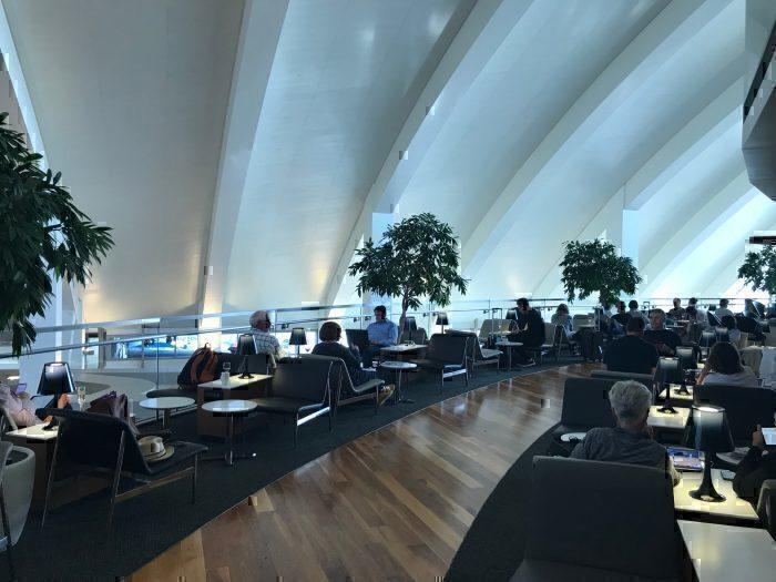 Lounge terrace