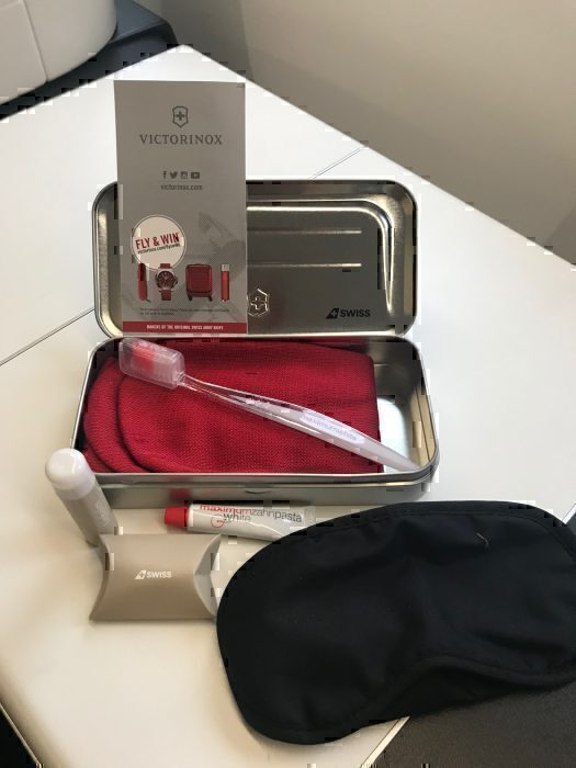 Swiss amenity kit