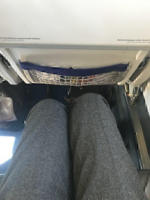 Lufthansa business class legroom