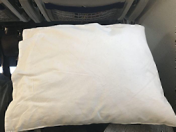 Lufthansa cityline business class pillow