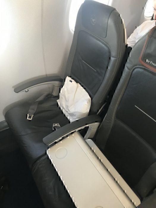 Lufthansa Cityline business class